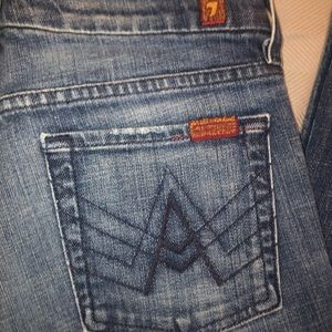 "7 for all mankind ""A"" pocket Jeans sz27"